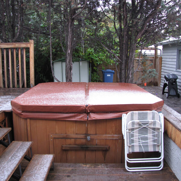 hot tub disposal in Erie